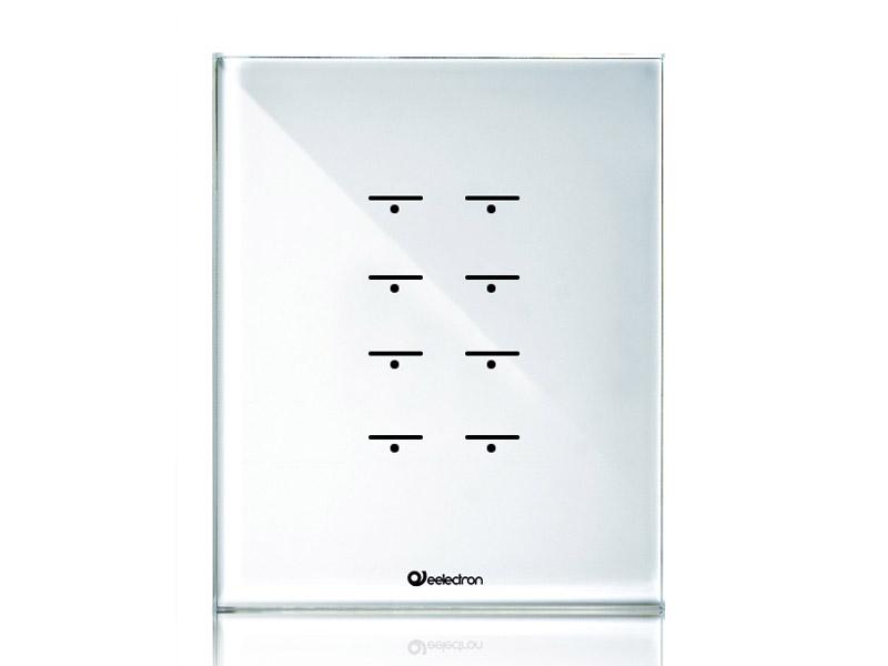 przycisk dotykowy knx biały