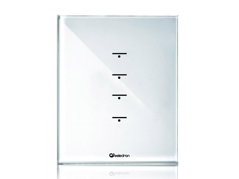 przycisk szklany knx 4 kanały