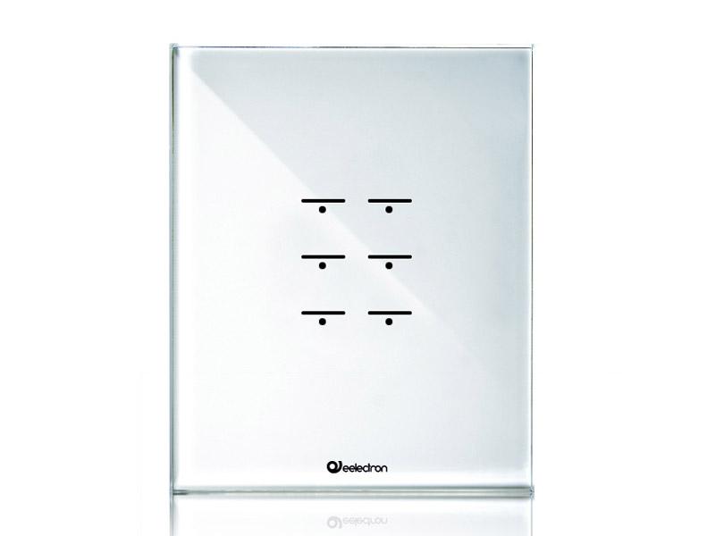 przycisk tactile knx biały