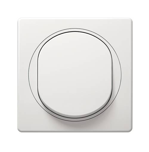łącznik jednobiegunowy 2P biały