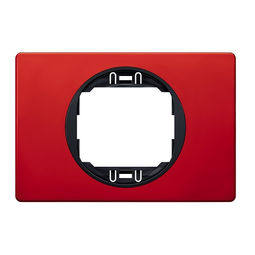 czerwona ramka ozdobna szeroka