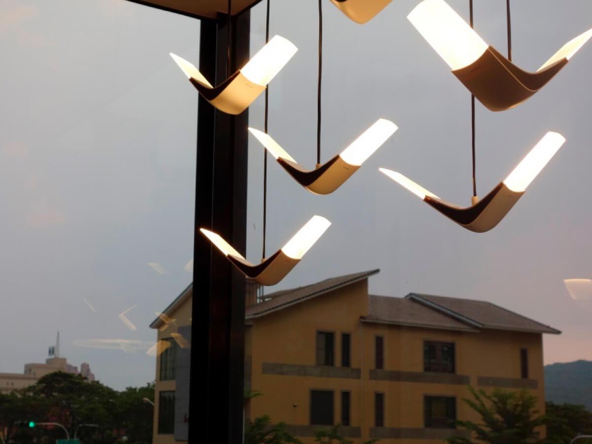 wiszące lampy flight II xcellent
